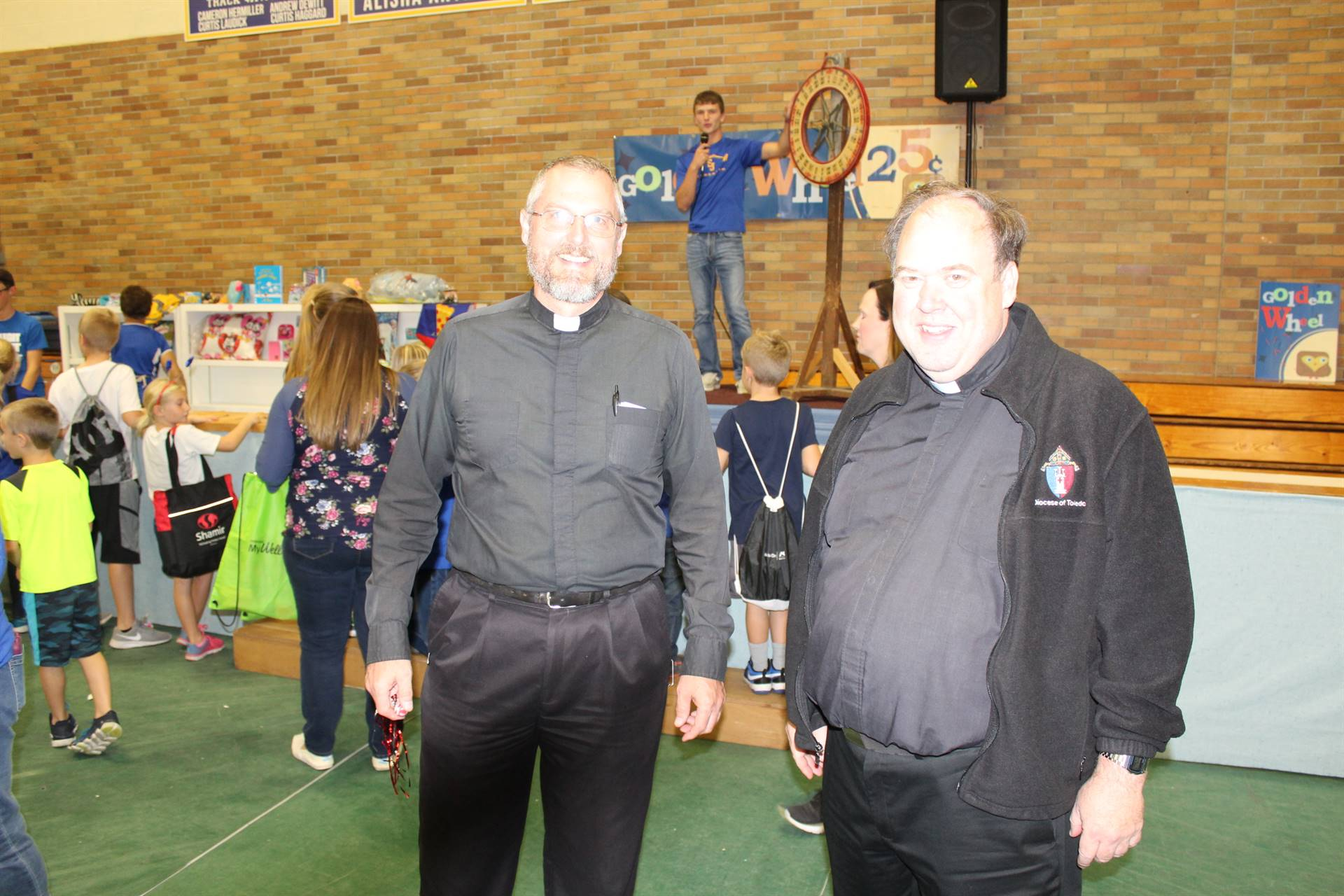 Fr. Taylor and Fr. Walsh