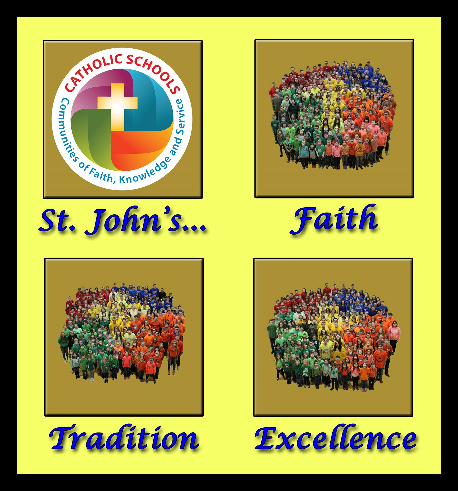 Catholic Schools Week - Student Logo