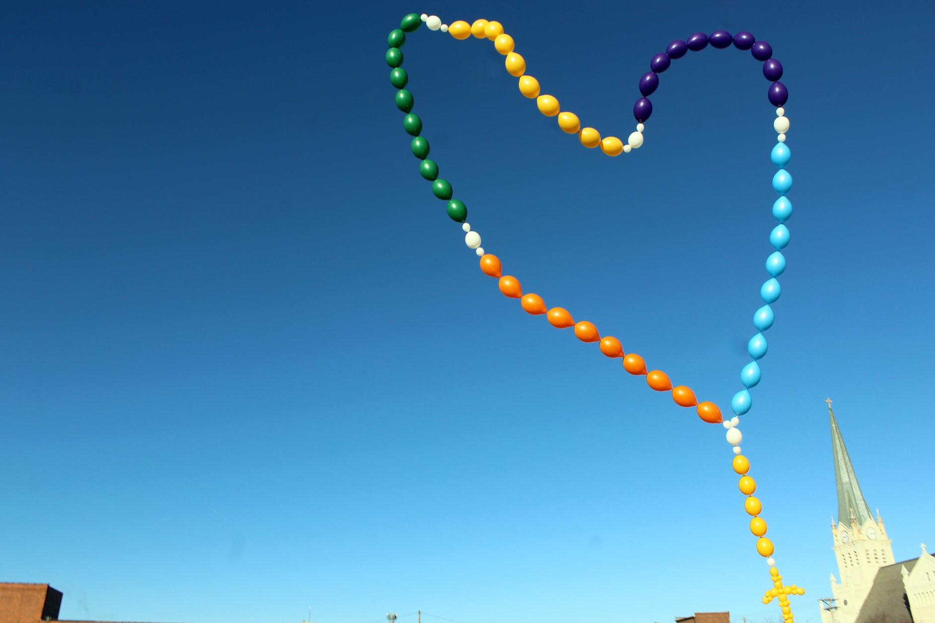 K-12 Rosary Balloon Release