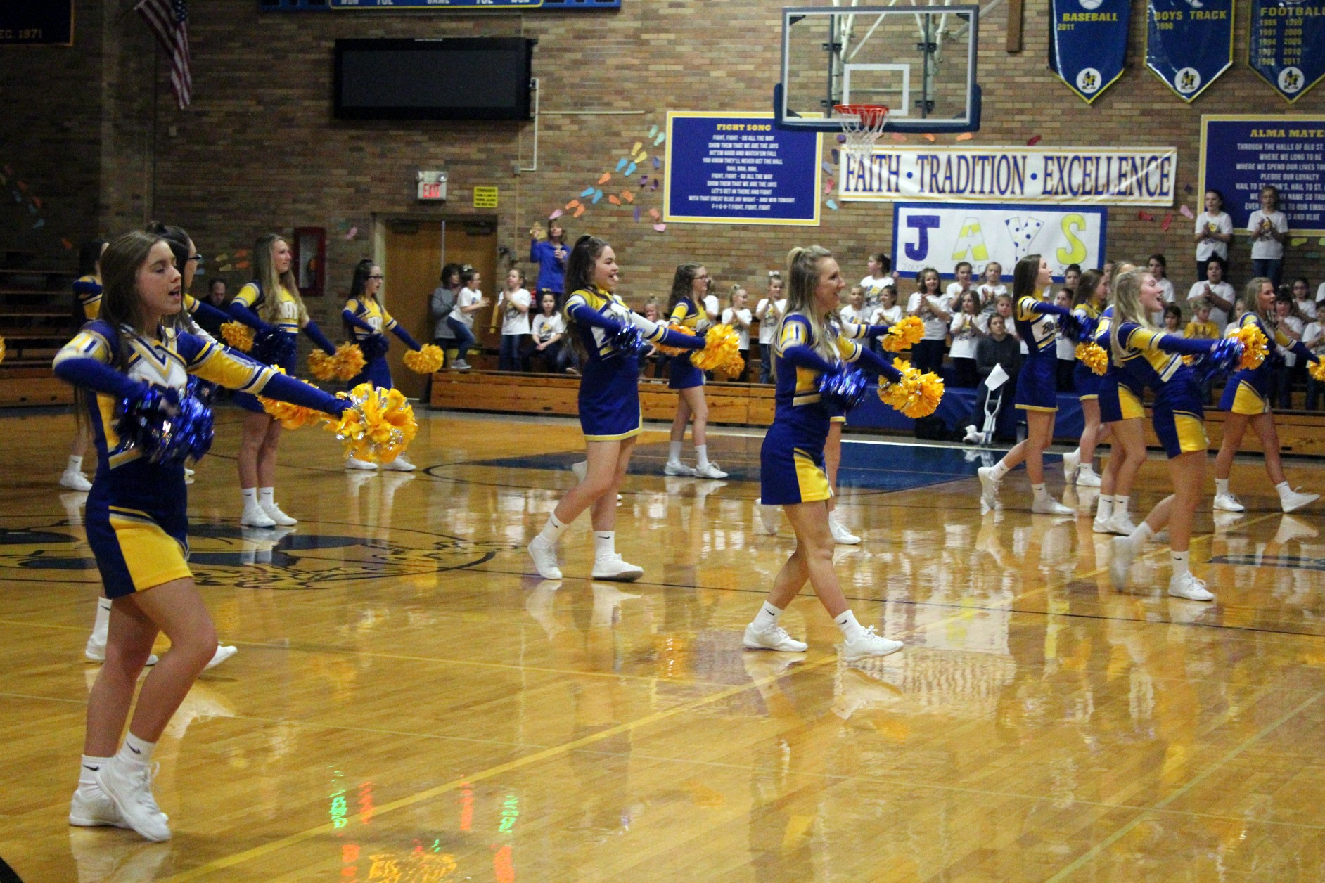 Catholic Schools Week Pep Assembly