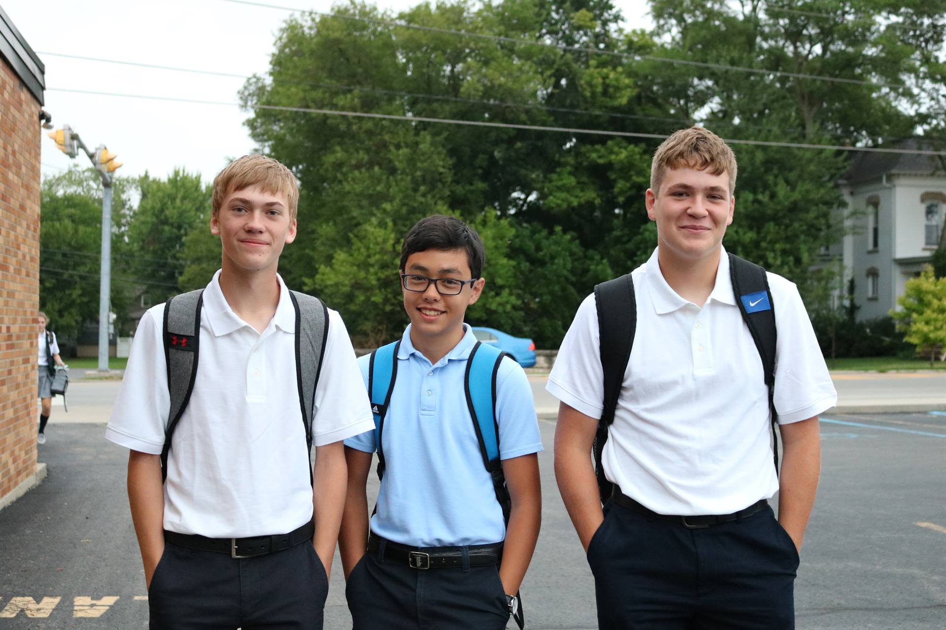 8th Grade Boys 1st Day of School