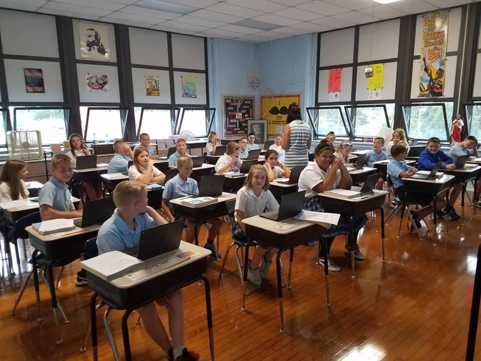 Mrs. Neidert's 6th Grade Class