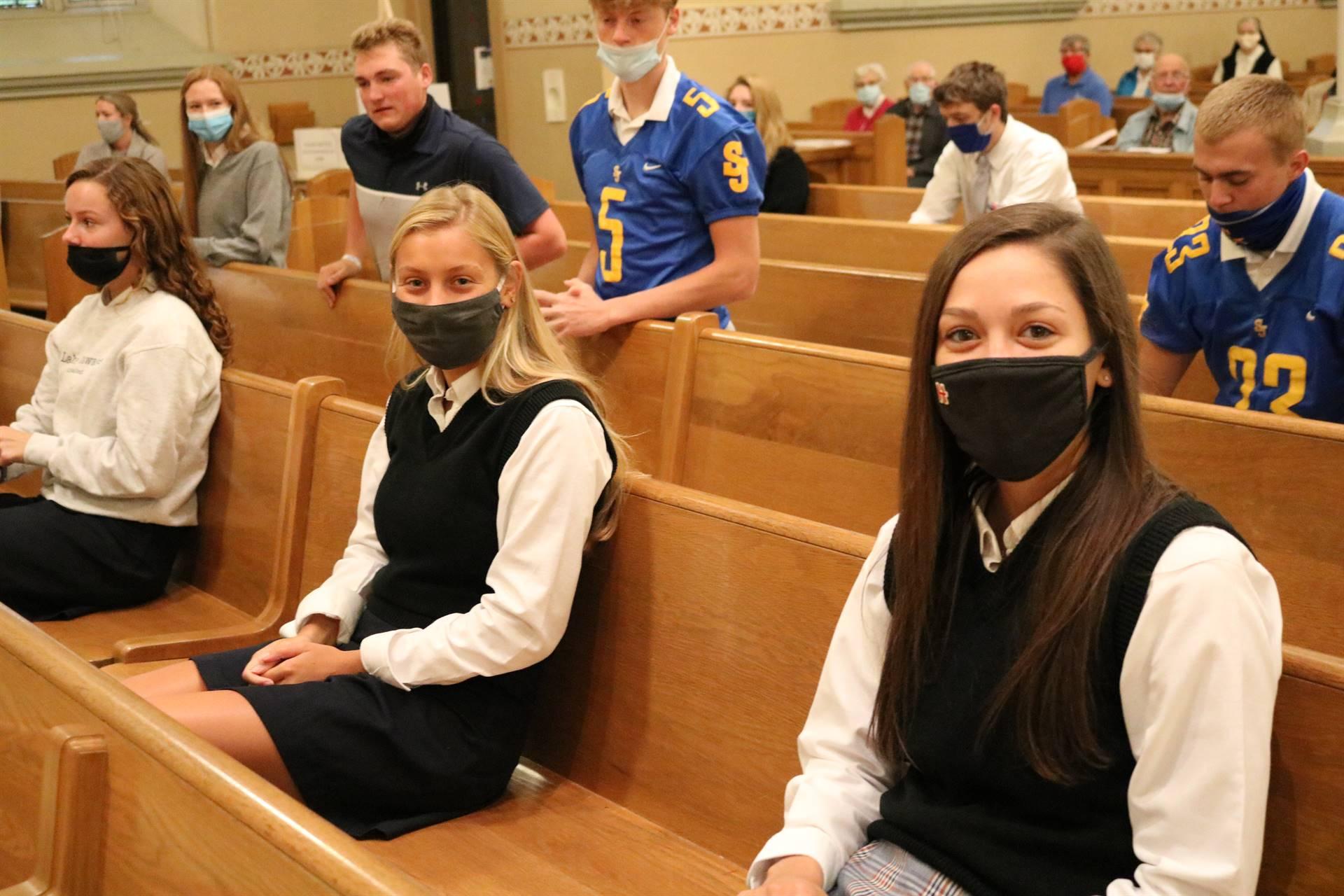 Seniors Homecoming Mass