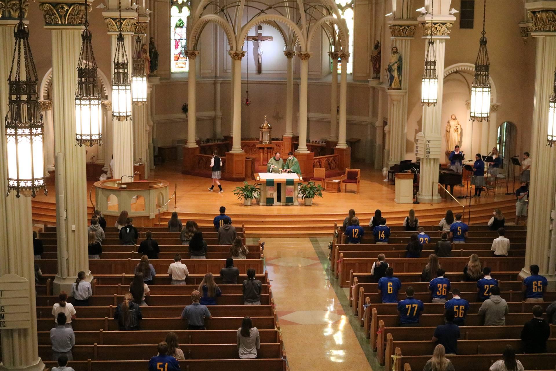 High School Homecoming Mass