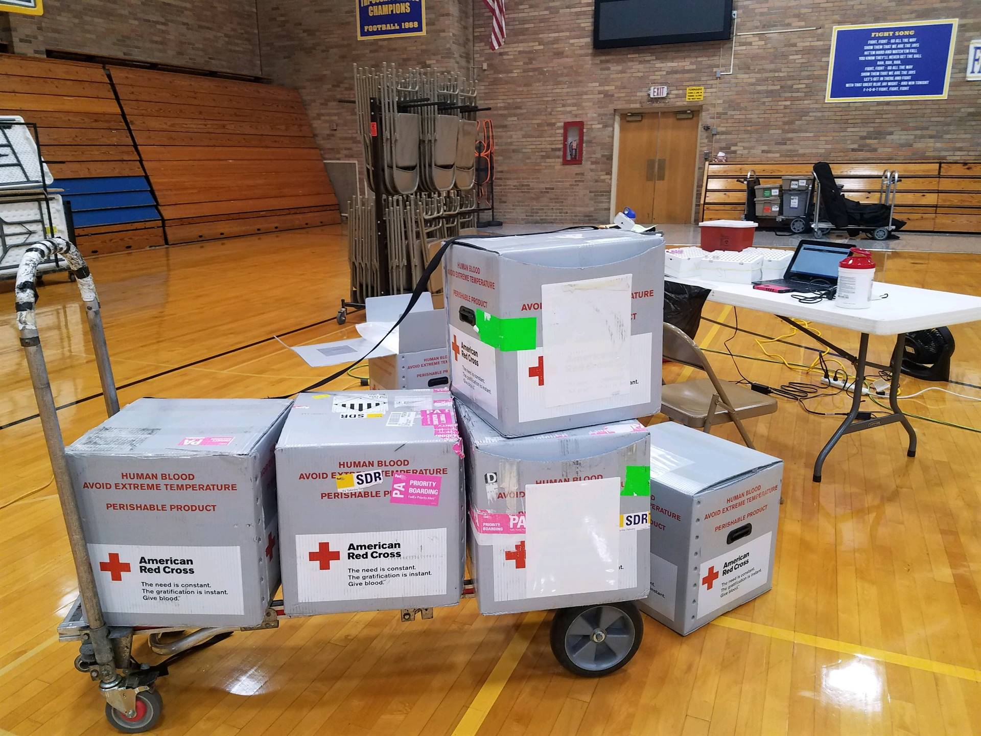 SADD/FTA Blood Drive