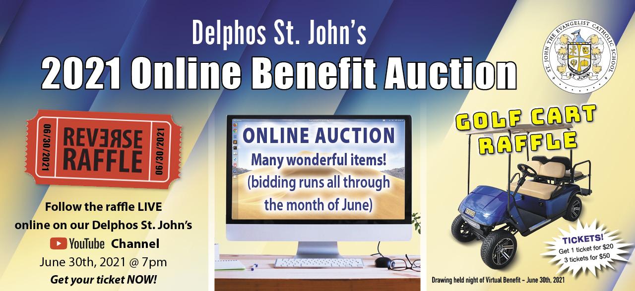 June 30th Online Benefit Auction