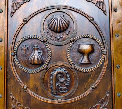 Church 2 front doors