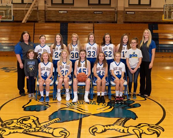 Junior High Girls Basketball 2018-2019