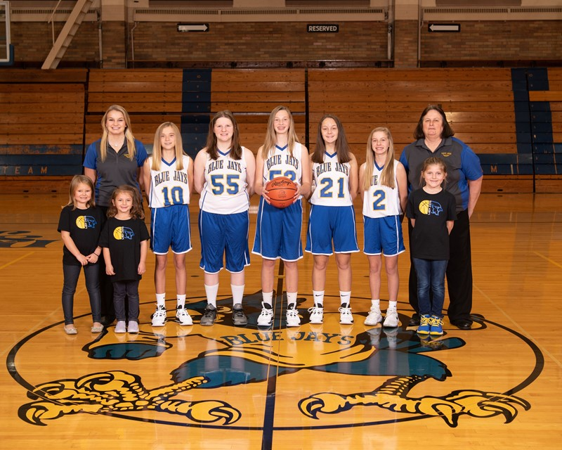Junior High Girls Basketball 2019-2020