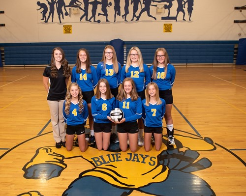7th Grade Volleyball 2019